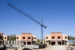 建造场所视图 图库摄影