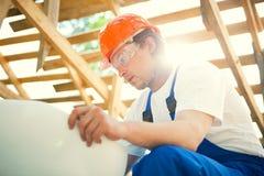 建造者专业人员 库存图片