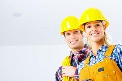 建造者人 免版税库存照片