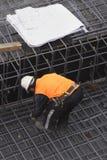 建造者计划站点 免版税库存照片
