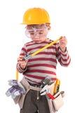 建造者年轻人 库存图片