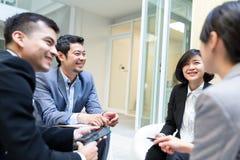 开公司的人民业务会议 库存照片