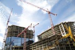 开发的现代城市达拉斯得克萨斯 免版税库存照片
