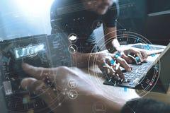 开发的编程和编码技术 网站队des 免版税库存照片