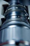 开口透镜缩放比例 免版税库存照片
