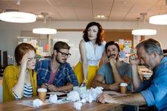 开周道的创造性的企业的队会议 图库摄影