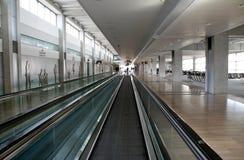 离开地区在本古理安机场,以色列 库存照片
