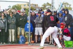 开始棒球加拿大资深Men's国民 免版税库存照片
