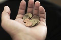开始货币一些 图库摄影