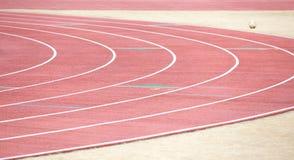 开始赛马跑道栅格在体育场的 免版税库存照片