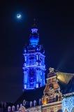 开幕式在阜,比利时,文化的资本 免版税库存照片