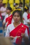 开幕式Loy Krathong和Yee彭节日在城镇Ma 库存照片