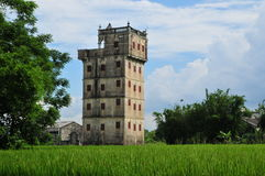开平碉楼,中国 库存图片