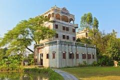 开平老房子在中国 免版税库存照片