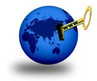 开张世界 免版税图库摄影