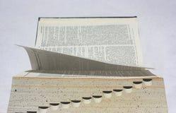 开张书- typwriter视图 库存图片