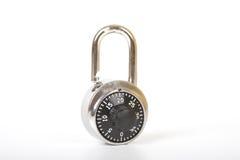 开张挂锁 免版税库存照片