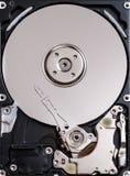 开张硬盘 库存图片