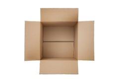 开张配件箱 免版税库存图片