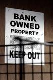 开户上的大厦庄园拥有的实际报名参&# 免版税库存图片