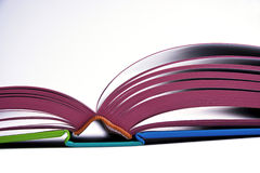 开放书的设计 库存照片