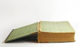 开放古色古香的书 库存图片
