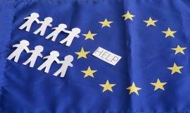 开放堡垒欧洲边界2015年10月2日的 免版税图库摄影