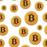 开放来源金钱Bitcoin 免版税库存照片