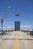 开放的吊桥 库存图片