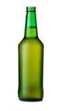开放的啤酒瓶 免版税库存照片