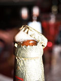 开放的啤酒 免版税库存图片