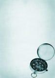 开放的指南针 免版税图库摄影