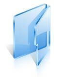 开放的文件夹 库存照片