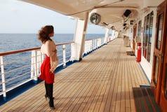 开放的甲板 免版税图库摄影