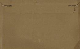 开放的皱纸板 库存照片