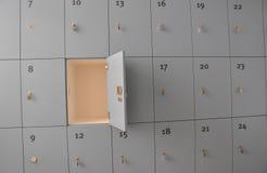开放的衣物柜 免版税图库摄影