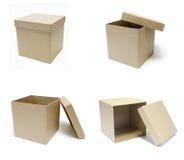 开放的配件箱 免版税图库摄影