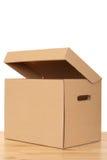 开放的配件箱 免版税库存照片
