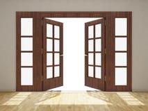 开放的门 免版税库存图片
