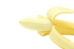 开放的香蕉 图库摄影