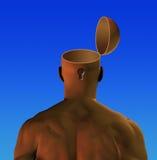 开放的头脑 免版税库存图片