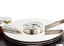 开放磁盘驱动器的坚硬 免版税库存图片