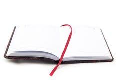 开放笔记本的图象 免版税图库摄影