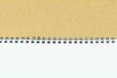 开放笔记本盖子 图库摄影