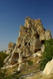 开放航空goreme kizlar修道院的博物馆 库存图片