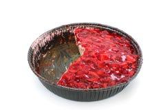 开放草莓蛋糕 库存图片