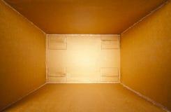 开放配件箱的发运 免版税库存照片