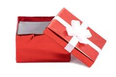 开放配件箱的礼品 图库摄影