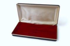 开放配件箱空的珠宝 免版税图库摄影