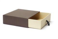 开放配件箱空的礼品 免版税库存照片